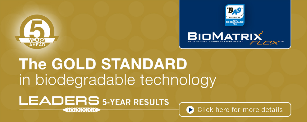 Click here to read about the BioMatrix Flex LEADERS 5-Year results